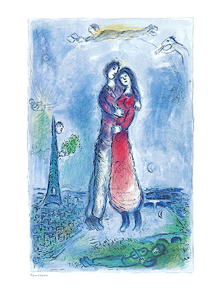 Chagall Bonheur