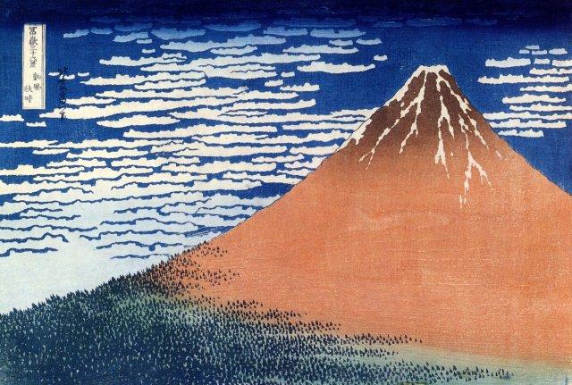 Hokusai Katsushika, Mount Fuji