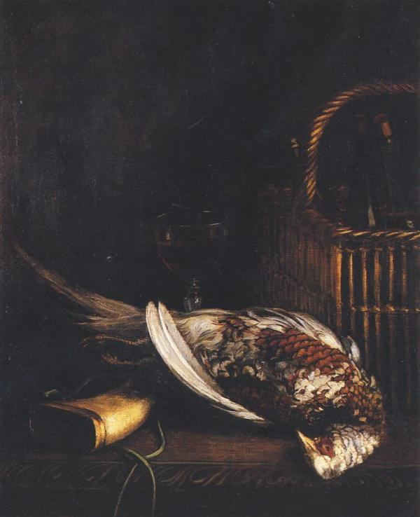 Oscar Monet Still Life with Pheasant