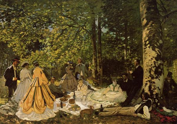 Monet Luncheon on the Grass Picnic