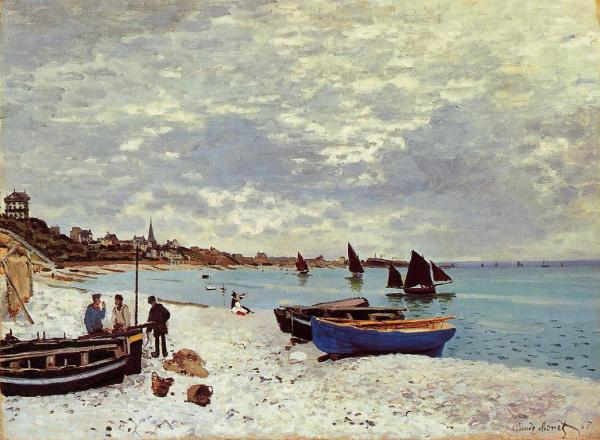 Monet Beach at Sainte-Adresse