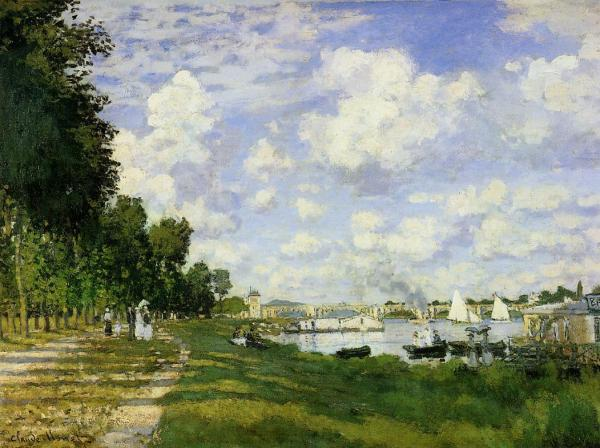Monet Port at Argenteuil