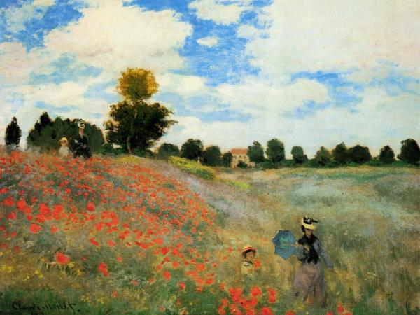 Monet Poppies at Argenteuil