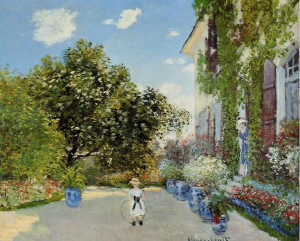 Monet House at Argenteuil