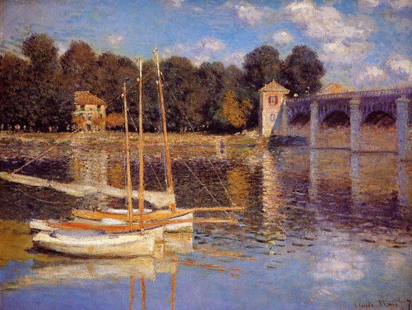 Monet Bridge at Argenteuil