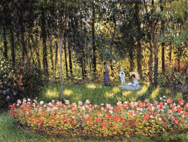 Monet s Family in the Garden