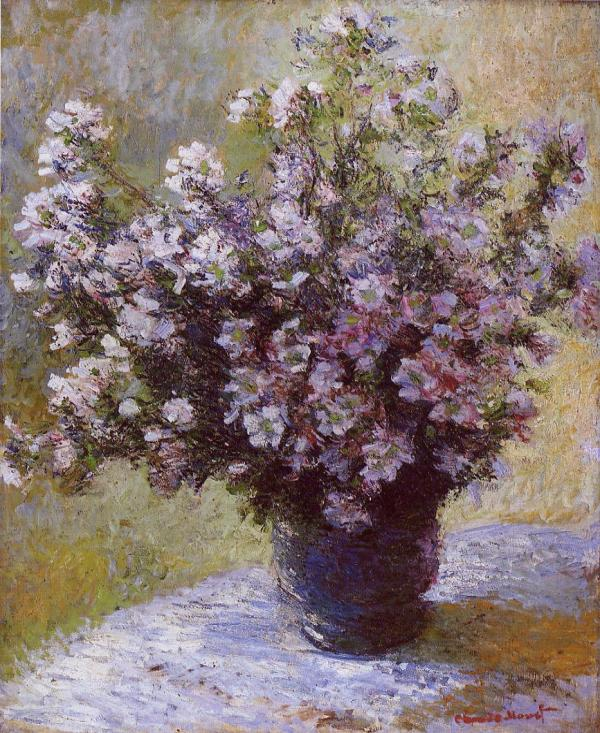 Monet Bouquet of Mallows