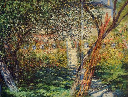 Monet Garden at Vetheuil