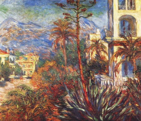 Villas at Bordighera