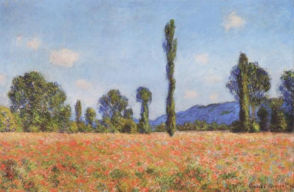Monet Poppy Field