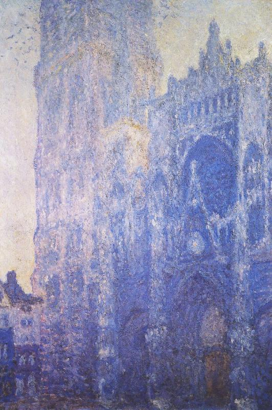 Monet Rouen Cathedral, The Portal and the Tour d Albane, morning Effect