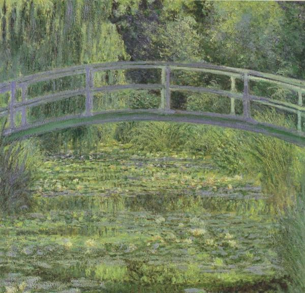 Claude Monet Water Lily Pond
