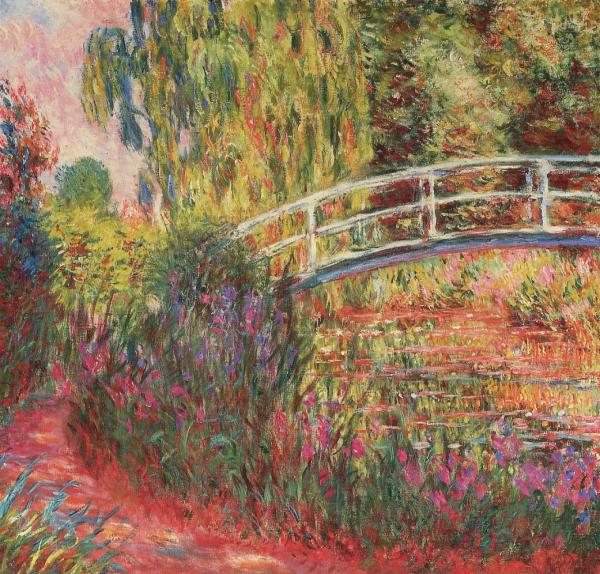 Monet Water Lily Pond  Water Irises