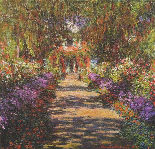 Main Path through the Garden at Giverny