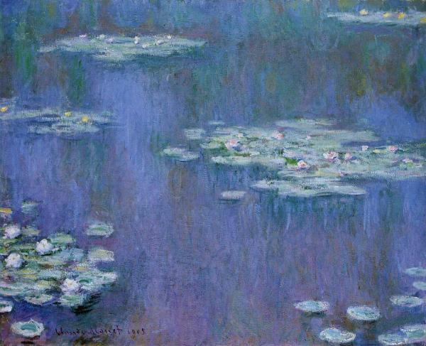 Monet Nymph�as