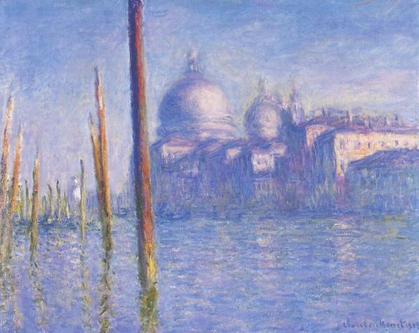 Monet Grand Canal Venice