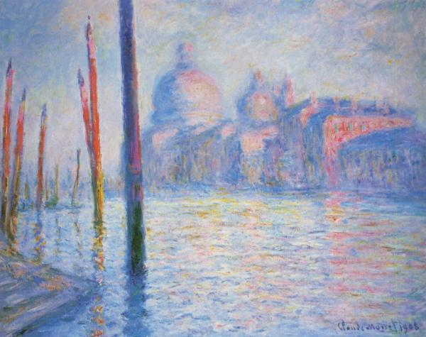 Monet The Grand Canal Venice