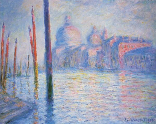Monet Le Grand Canal Venise