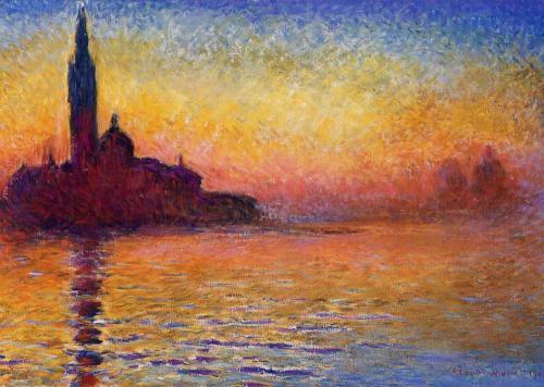 Monet San Giorgio Maggiore at Twilight