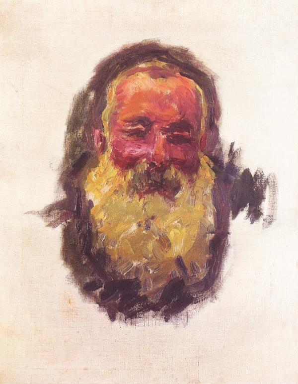 Autoportrait de Claude Monet