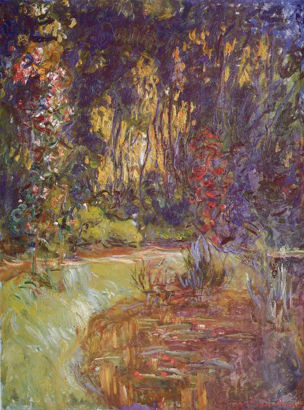 Claude Monet w1878 The Water-Lily Pond at Giverny