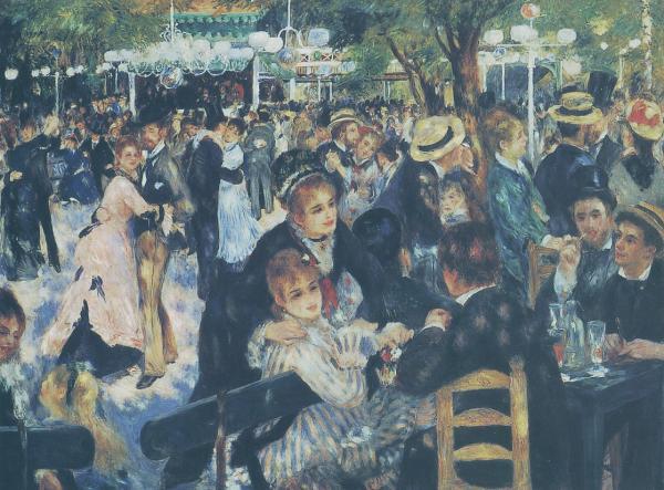 Renoir, Le bal du Moulin de la Galette 1876