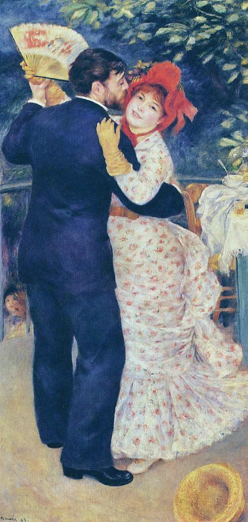 Renoir La danse � la campagne