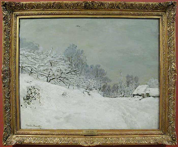 Monet au Louvre