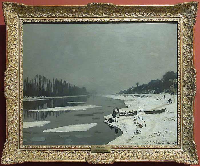 un Monet du Louvre