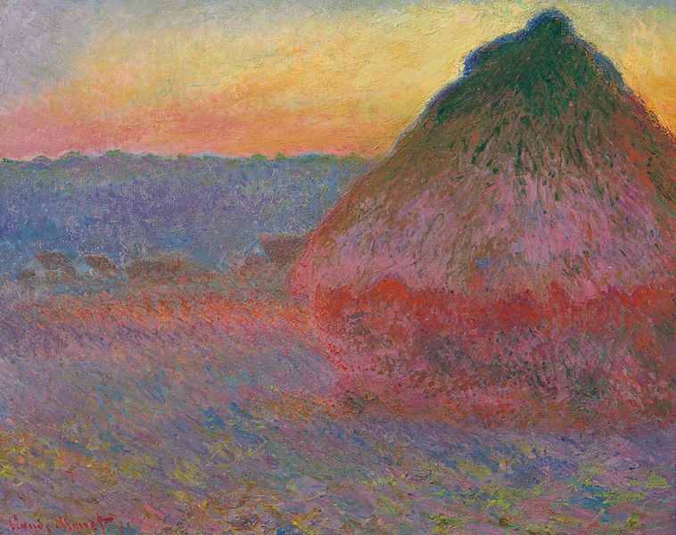 Claude Monet, Meule, 1891 Collection particulière